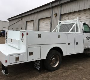 Truck Craft, Aluminum Service Body on a GMC Chassis