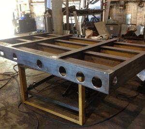 Custom Welding and Fabrication for Trailer Deck